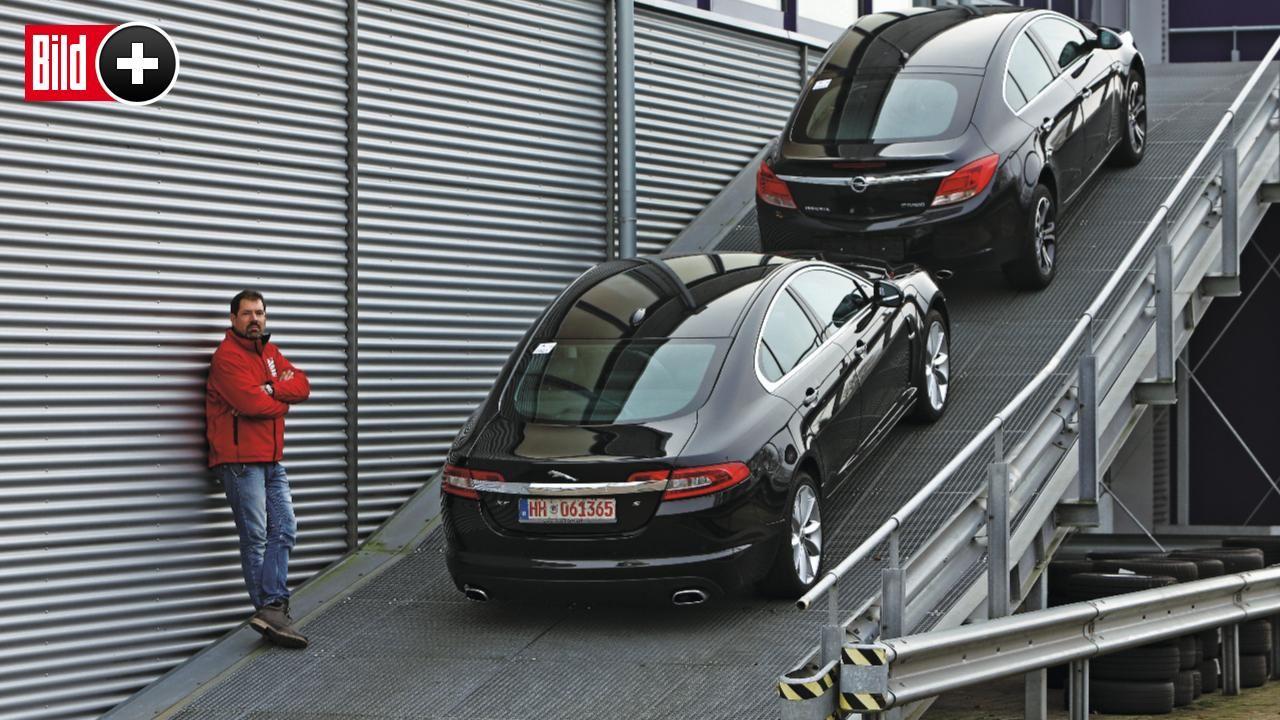 Gebrauchte im Test – Jaguar XF gegen Opel Insignia - Lebemann trifft ...