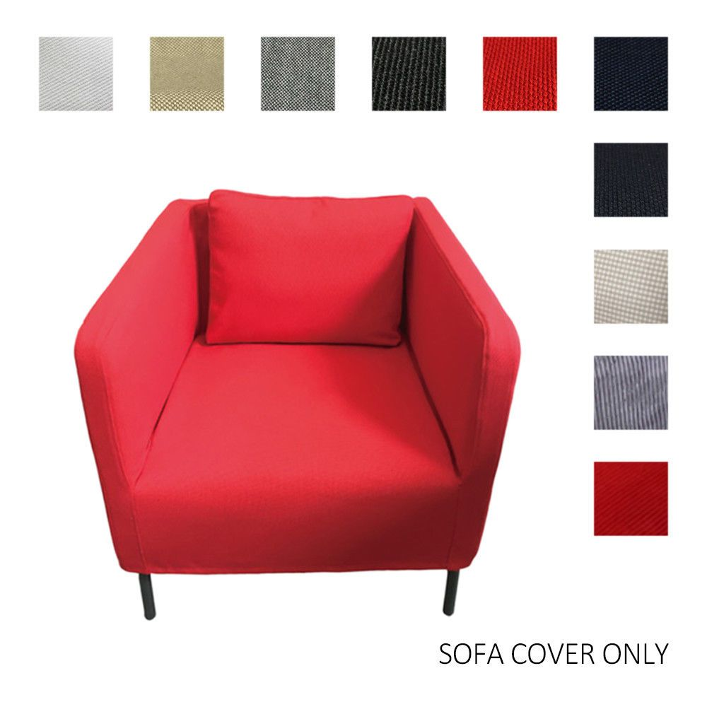Home Furniture Sofa Cover Decoration Single Chair Sofa Cover Fits Ikea Ekero Bcl Single Sofa Chair Sofa Furniture Single Chair