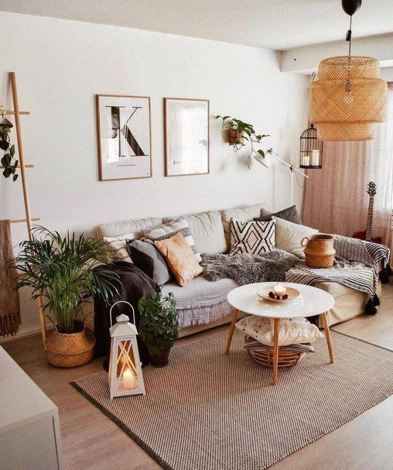 ✔90 comfy scandinavian living room decoration ideas 43 images