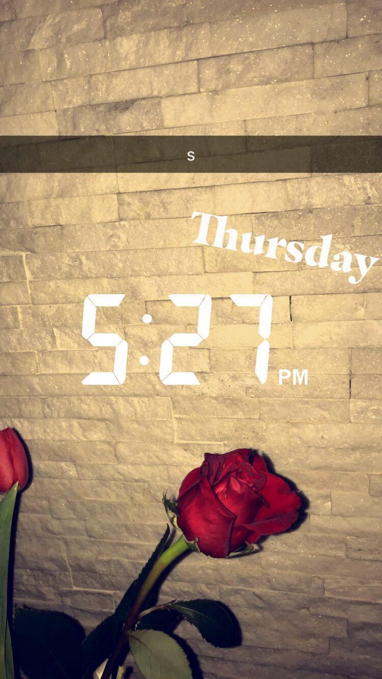 ️snapchat sc streaks flowers aesthetic ideas