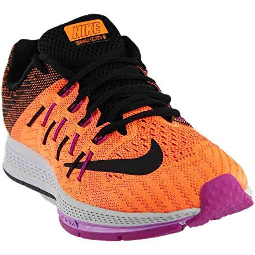Women's Nike Air Zoom Elite 8 Running Shoe Bright Citrus/ Black Size 10 M US