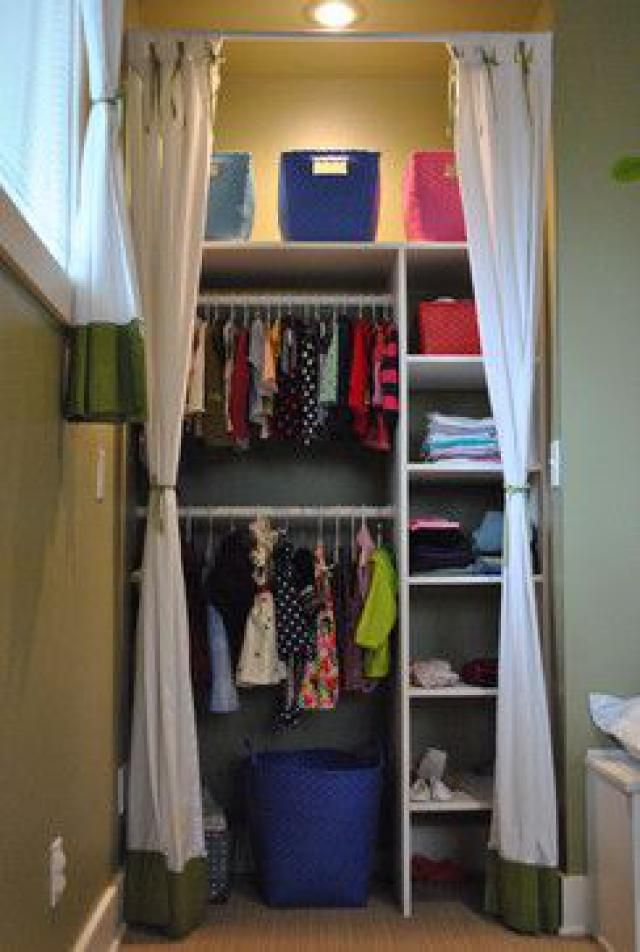 10 DIY Solutions For Bedrooms Without Closets