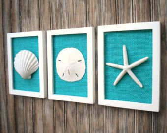 Photo of Cottage Chic Set of Beach Decor, Wall Art, Nautical Decor, Coastal Decor, Beach Wall Art, Beach, Coa