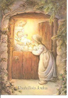 Pin von christiana auf weihnachtsbilder vintage weihnachten advent und advents gr e - Niedliche weihnachtskarten ...
