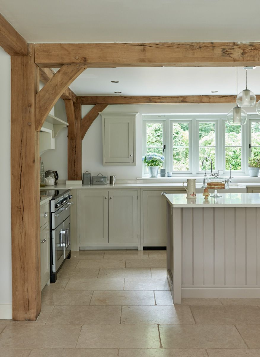 Manor houses border oak oak framed houses oak framed for Decorative beams in kitchen