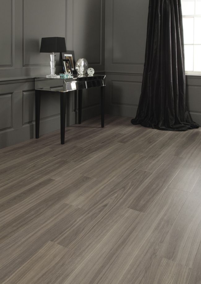 Amtico Dusky Walnut Lounge Home Cinema Room Flooring