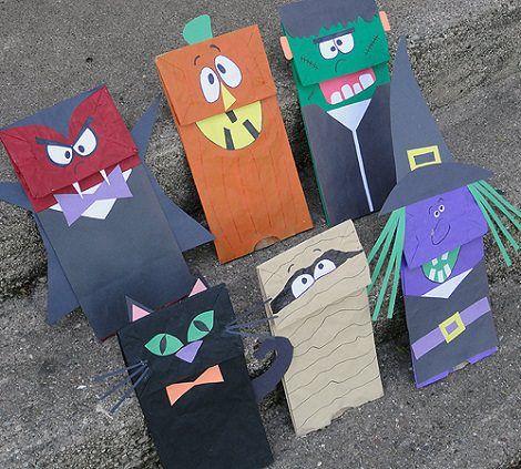 Bolsas de caramelos de halloween halloween pinterest - Bolsas para decorar ...