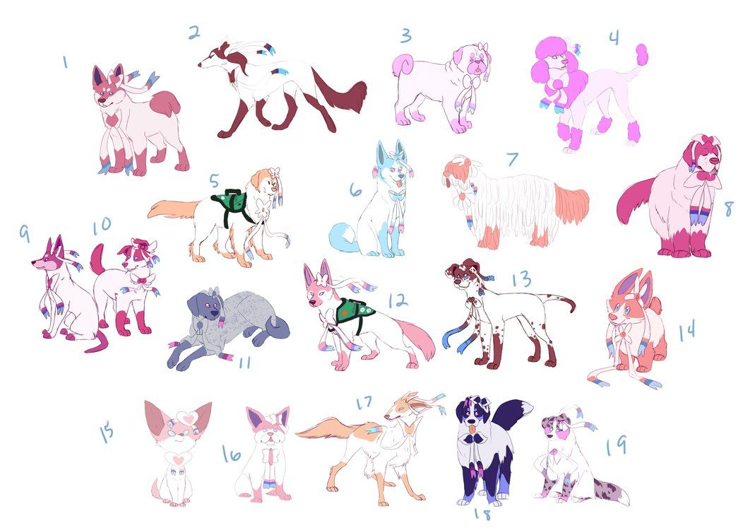 Sylveon dog show by Tinnypants
