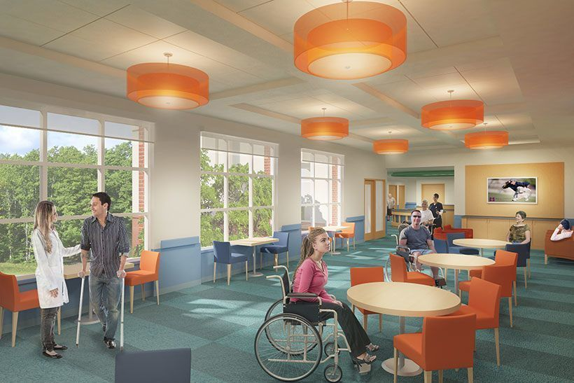Madonna Rehabilitation Hospital Michael Graves