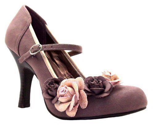 Truffle Colour Mary Janes