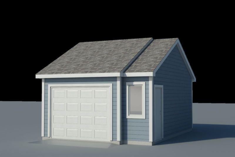 Build your own 16 X 22 Garage DIY Plans Fun to build – Build Your Own Garage Plans