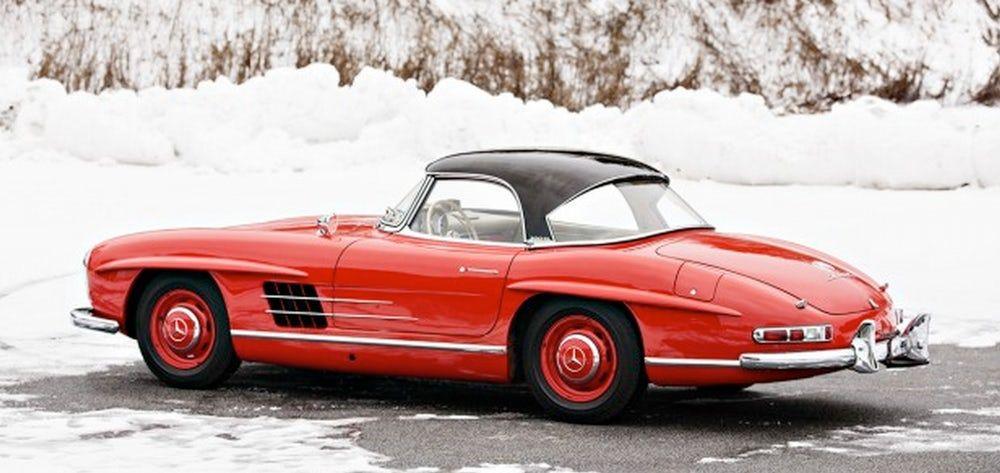 1963 Mercedes Benz 300 Sl Roadster 1 600 000 2 000 000