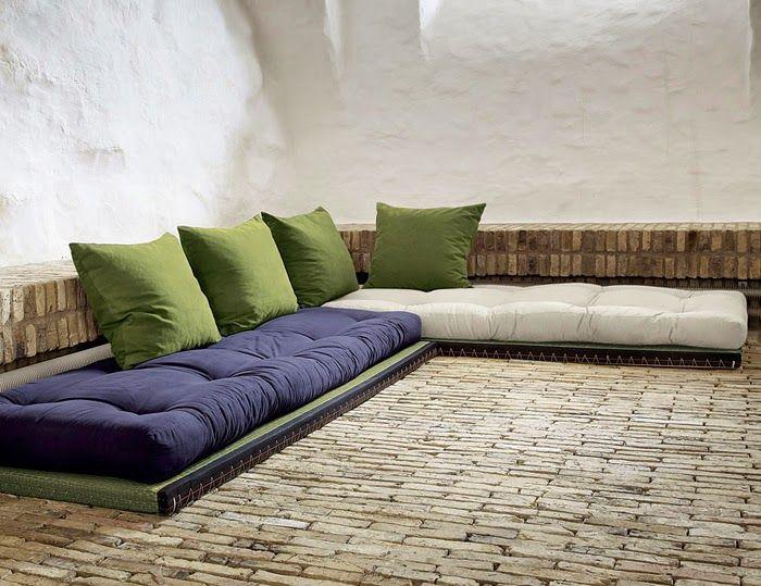 Palettenbett Matratzen Und Palettensofa Auflagen Pinterest Europaletten Sofa Selber Bauen Matratze Kissen Auflage