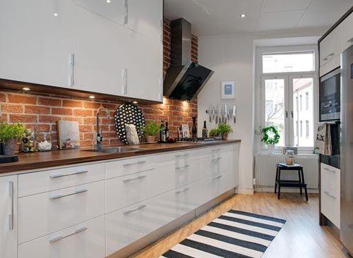 Скандинавский стиль и стиль лофт в дизайне кухни.