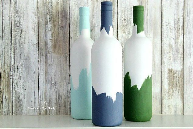 How To Decorate Wine Bottles Painted Wine Bottles Wine Bottle Vases  Diywithout Breaking