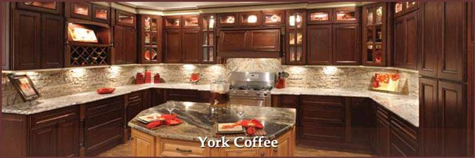 York Coffee Affordable Kitchen Cabinets Kitchen Cabinets Brown Kitchen Cabinets