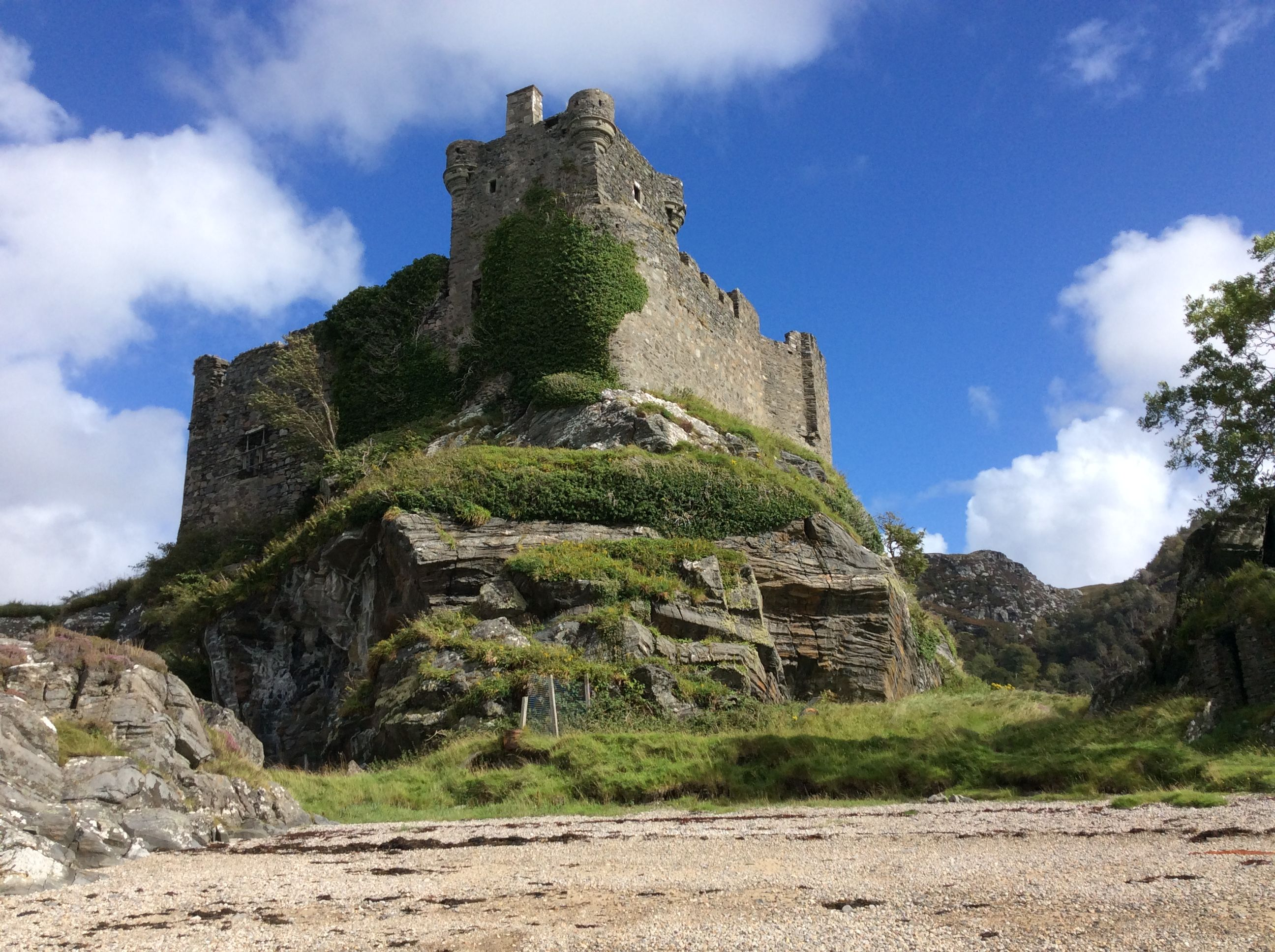 Abandoned Castle Scotland