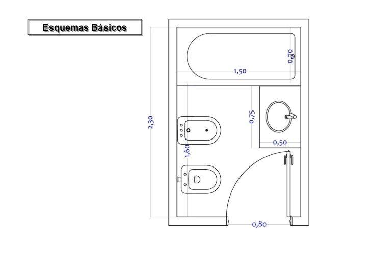 Dimensiones Minimas Cocina Isla Buscar Con Google Planos De Baños Planos De Baños Pequeños Baños Medidas