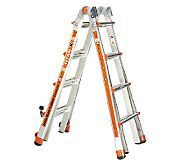 Little Giant Titanx 24 In 1 17 Ladder With Air Deck And Wheel Kit