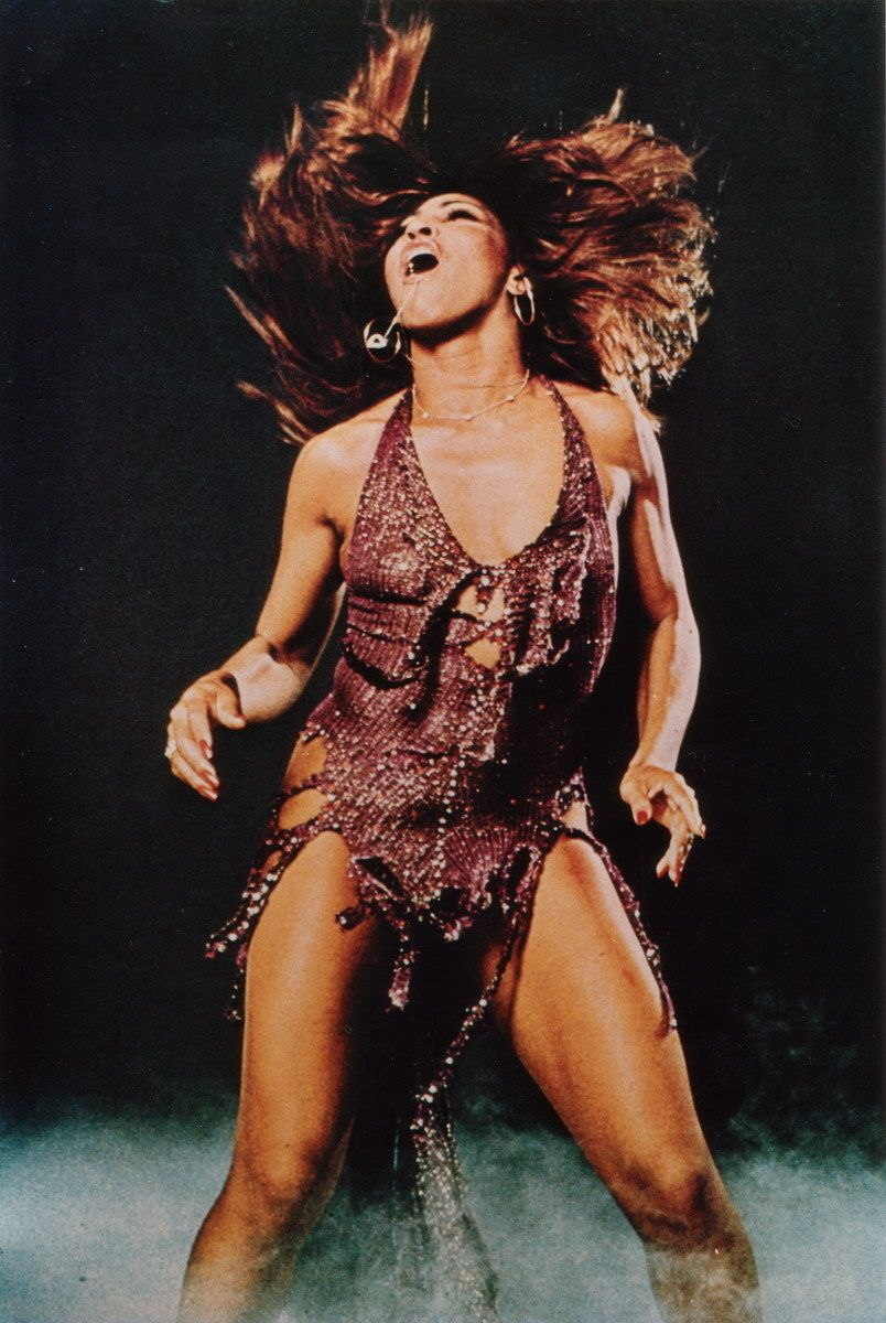 I like to get pumped up before a show with a little Tina Turner on my iPod.  She can dance, she can sing, she is incredible.