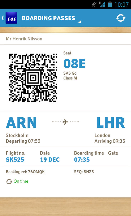 Sas Scandinavian Airlines Android Apps On Google Play Airline Apps Passport Information Traveling By Yourself