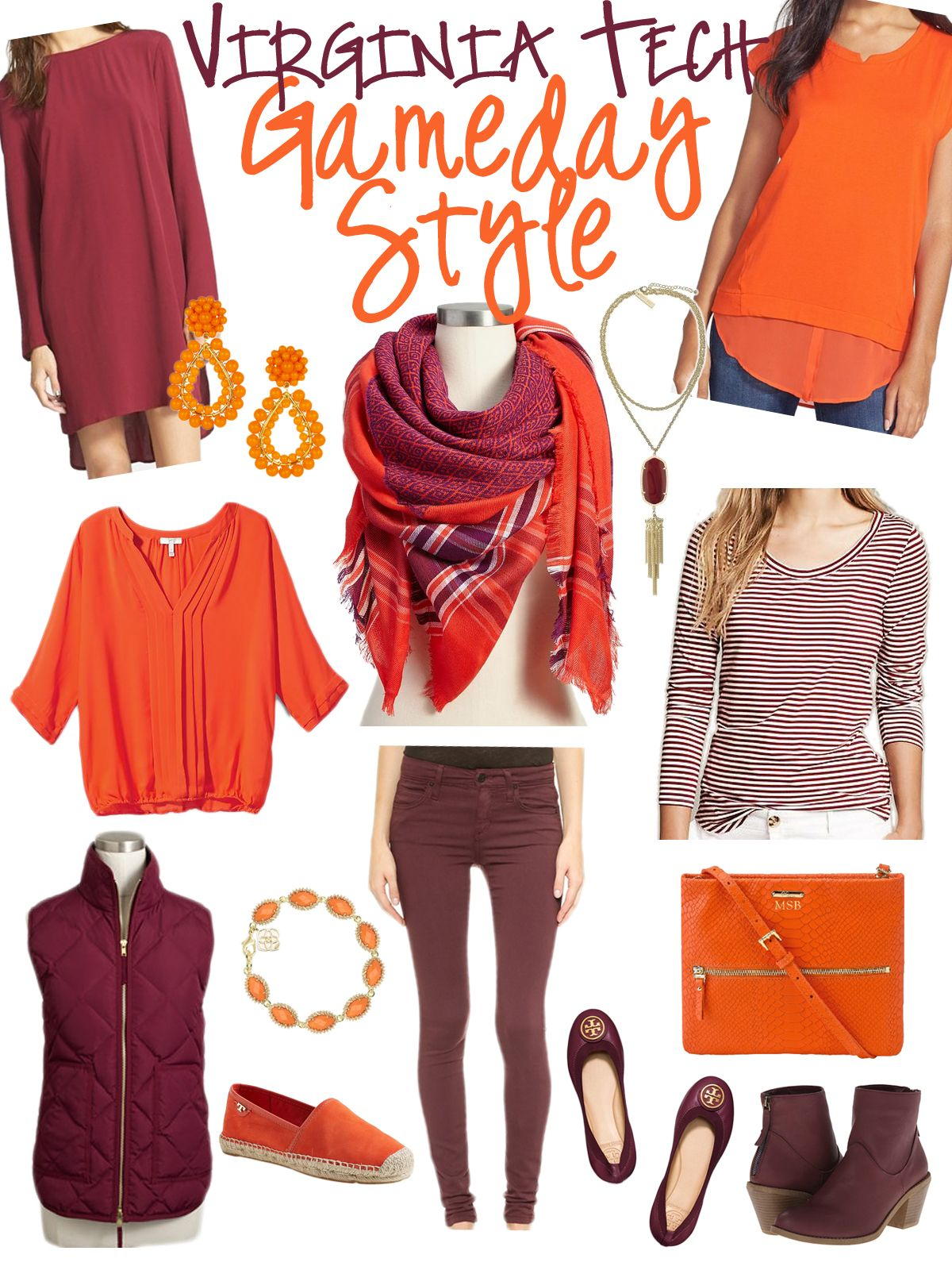 Virginia Tech Gameday Style