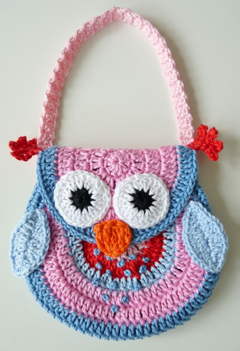 Owl Purse 2 Leuke Ideetjes Pinterest Haken Breien En Breien Haken