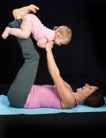 5 yoga poses for mommies  babies  mommy and baby yoga