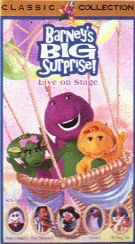Big Surprise Live On Stage Vhs Vhs Bob West Http Www Amazon Com Dp 1571320385 Ref Cm Sw R Pi Dp Tlcytb1za Barney Barney The Dinosaurs Barney Friends