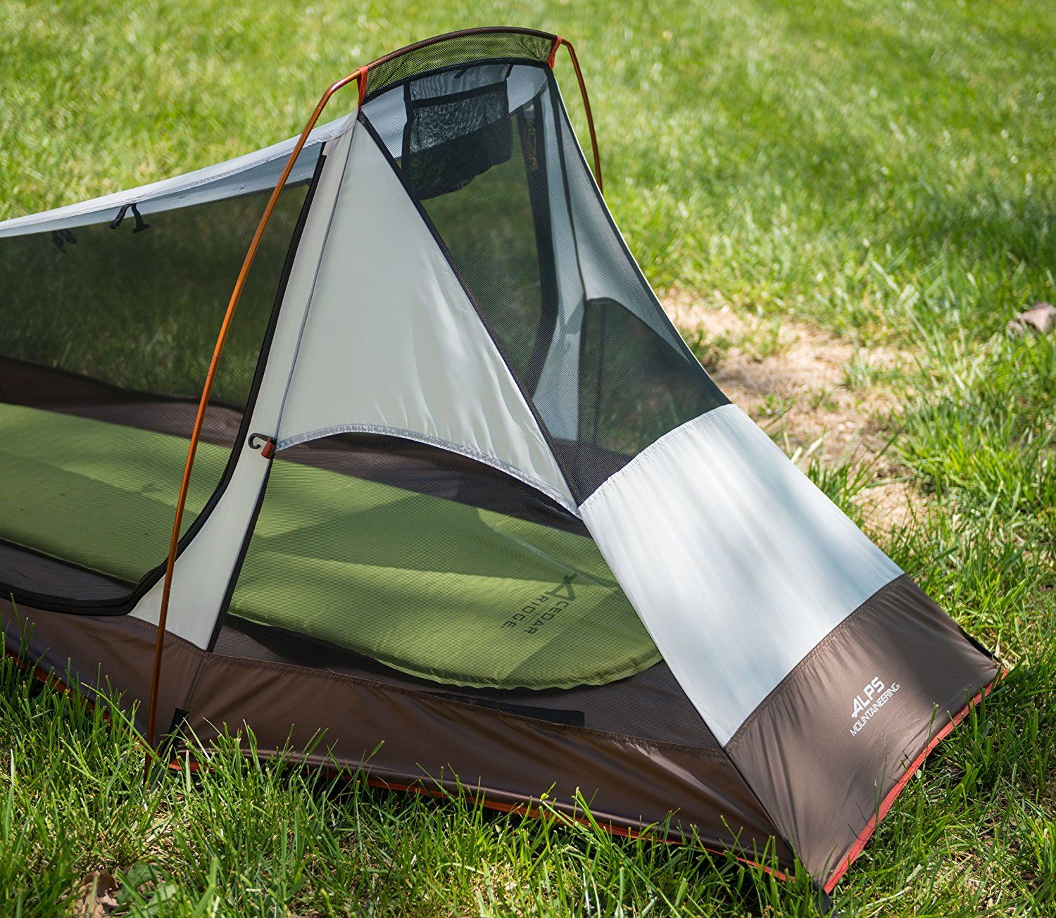 Lightweight and Durable One Person Tent with a 2 Pole Design. ALPS Mountaineering Mystique 1.0 Tent & Lightweight and Durable One Person Tent with a 2 Pole Design. ALPS ...