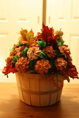 Sue's Sweet Creations: Fall Cupcake Bouquet