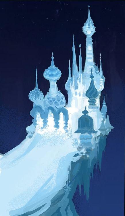 Frozen Scott Watanabe Disney Concept Art Disney Art Visual