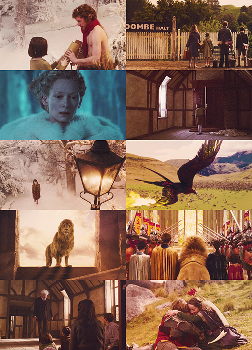 The Chronicles of Narnia: The Lion, the Witch and the Wardrobe. <3