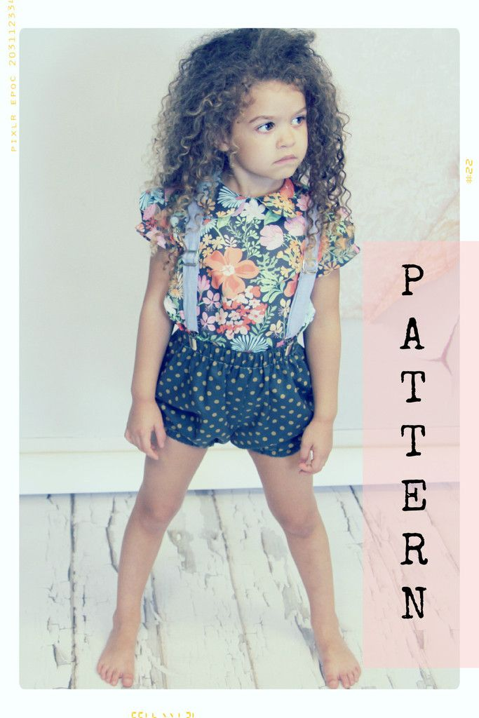 Bubble Shorts Bloomers Sewing Pattern | Vintage Inspired. Handmade ...
