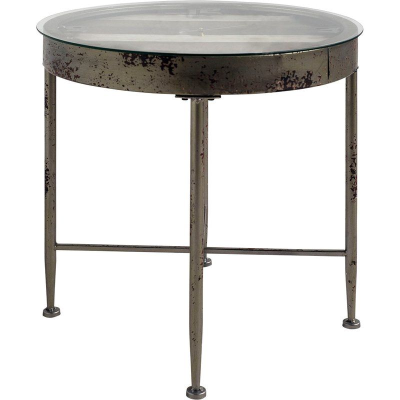 Roland End Table Metal Accent Table Table Metal Side Table