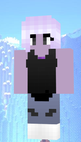 Minecraft Skin Of Amethyst From Steven Universe Minecraft Minecraft Skins Minecraft Skin