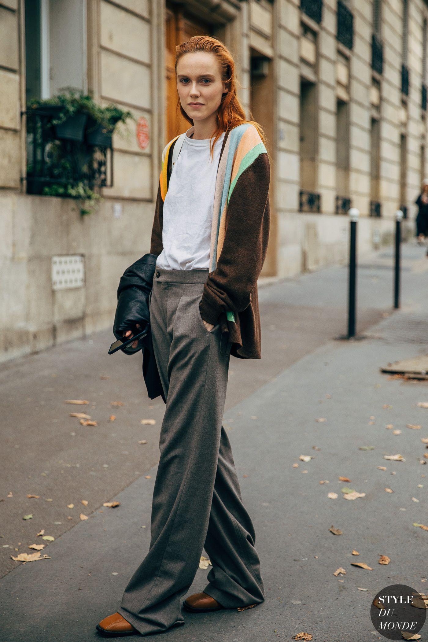 Paris SS 2020 Street Style: Kiki Willems - STYLE DU MONDE   Street Style Street Fashion Photos Kiki Willems