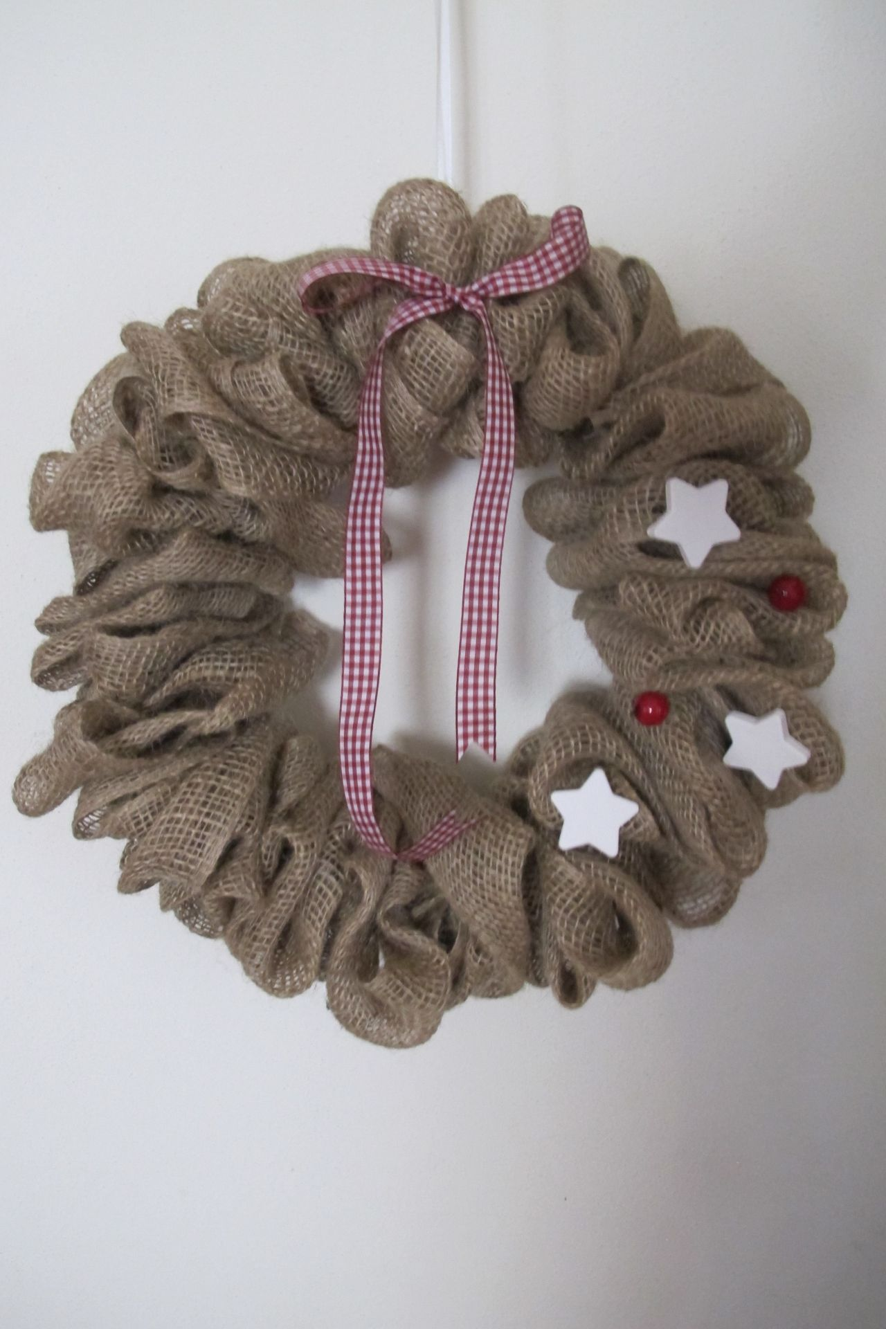 Corona in yuta ghirlande pinterest ghirlande natale - Ghirlanda natalizia per porta fai da te ...