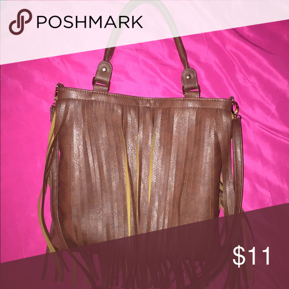 Fringe Purse Used Twice Comes With A Long Shoulder Strap Too Bags