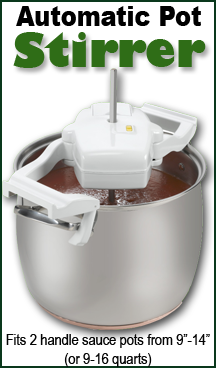 Marvelous An Automatic Pot Stirrer? Why The Heck Not! Stirs Your Sauce, Candy,
