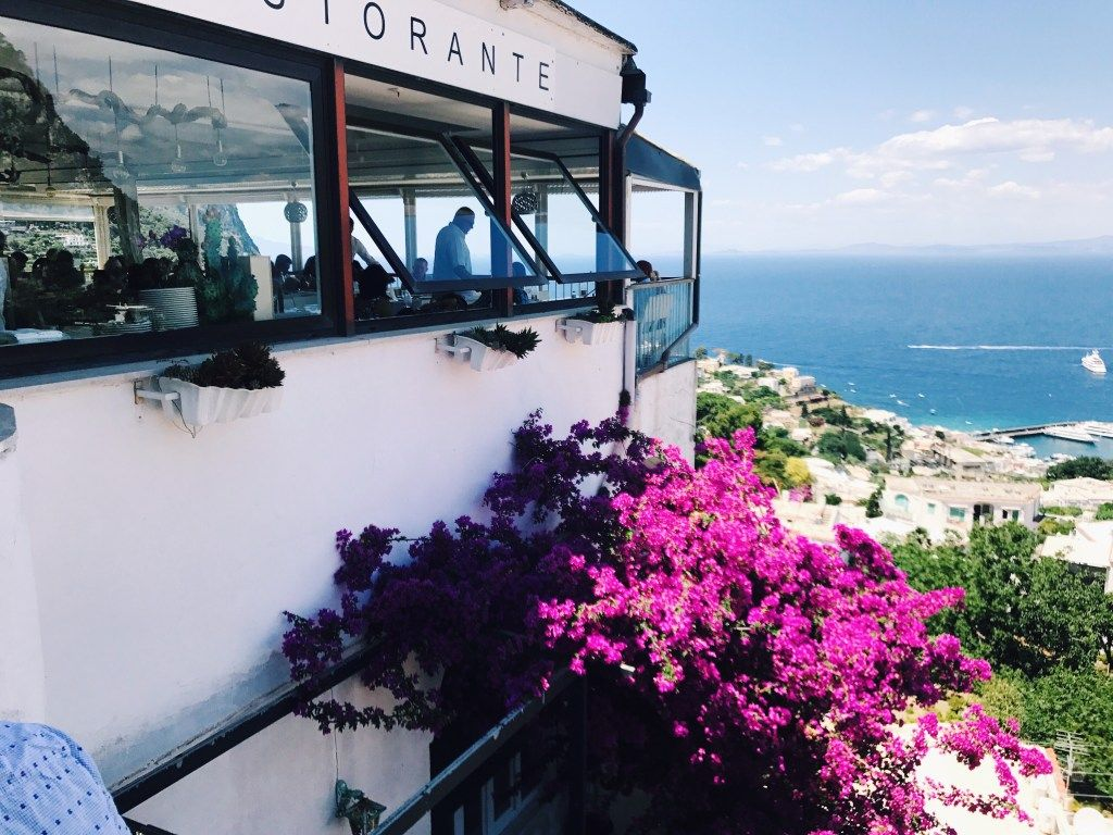 Ristorante Terrazza Brunella In Capri Your Travel Guide To