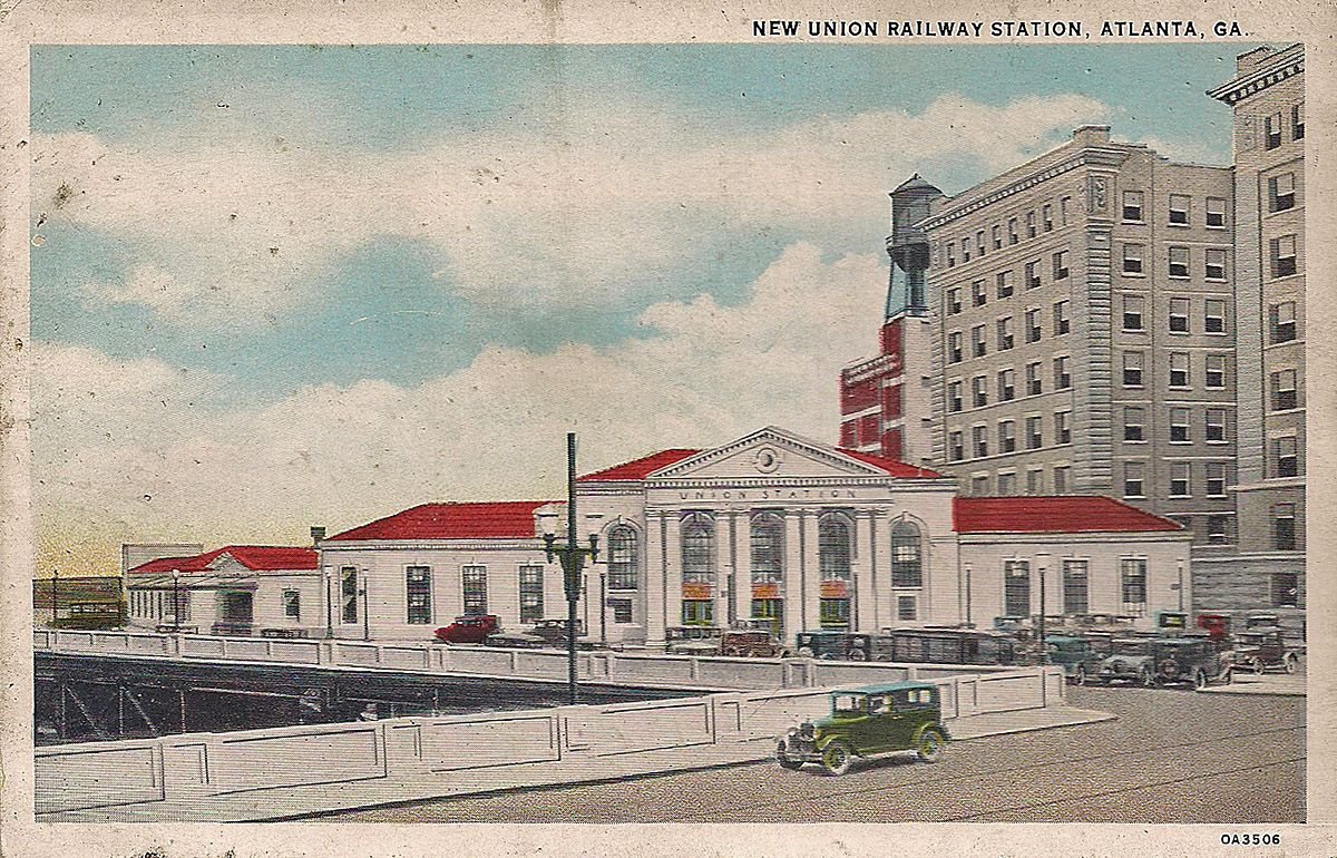 Union Station Atlanta Ga Union Station Historical Historical Photos