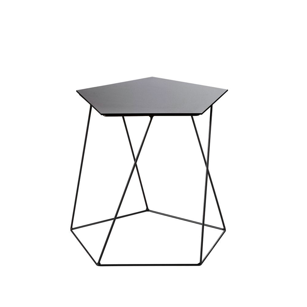 Table D Appoint Bout De Canapé Meubles D Appoint En 2019 Products Metal Negro Mesitas