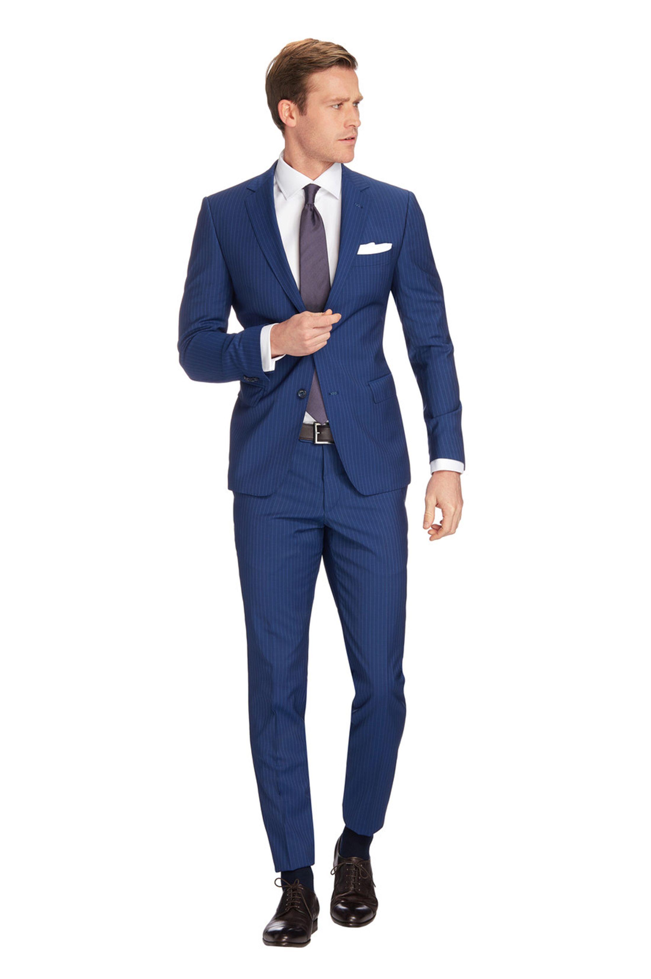 f2bfc384763 Van Gils Zenar Kostuum Blauw online bestellen   Suitable   Men's ...