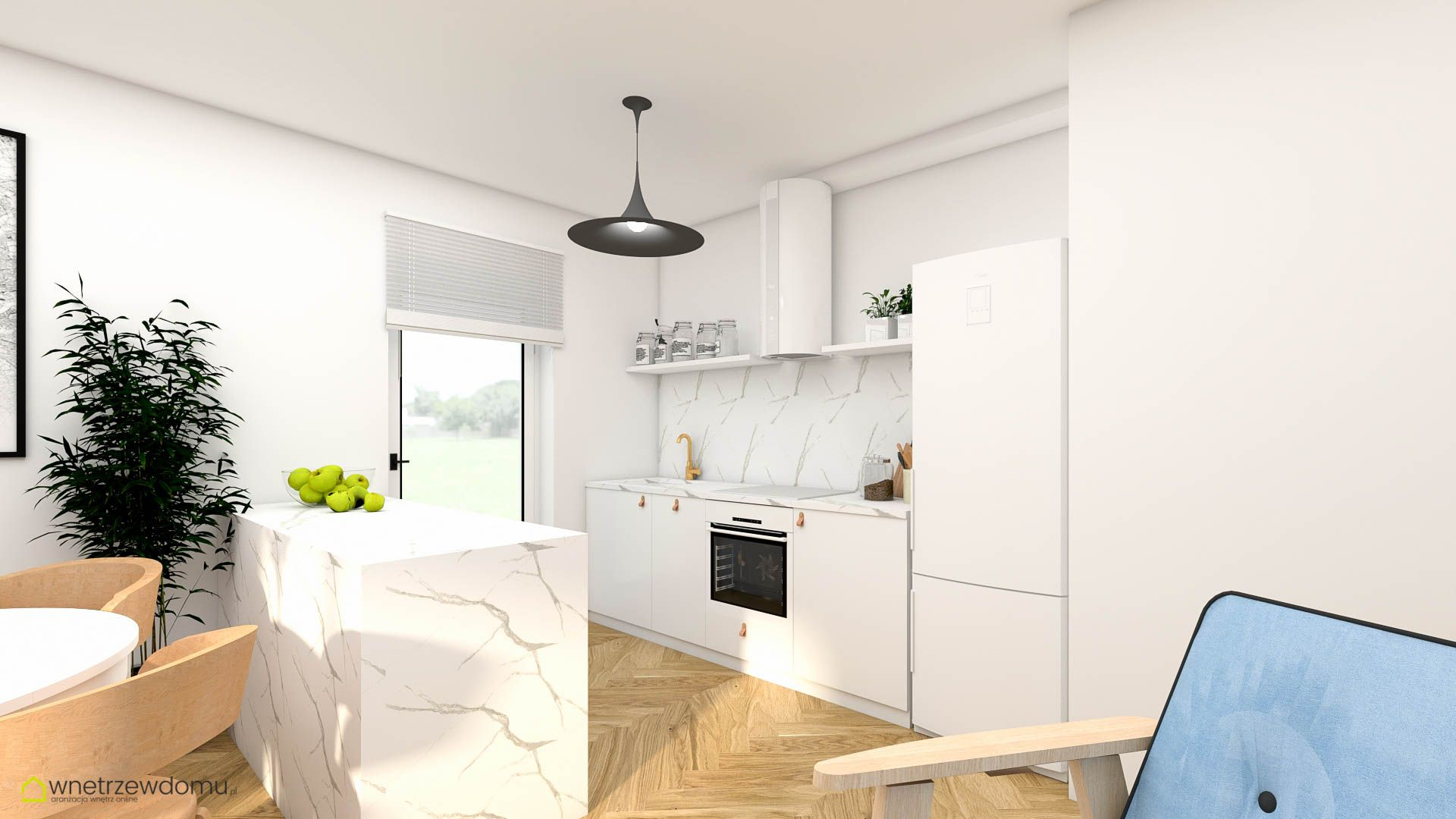 Kuchnia W Salonie Retro Home Decor Decor Kitchen