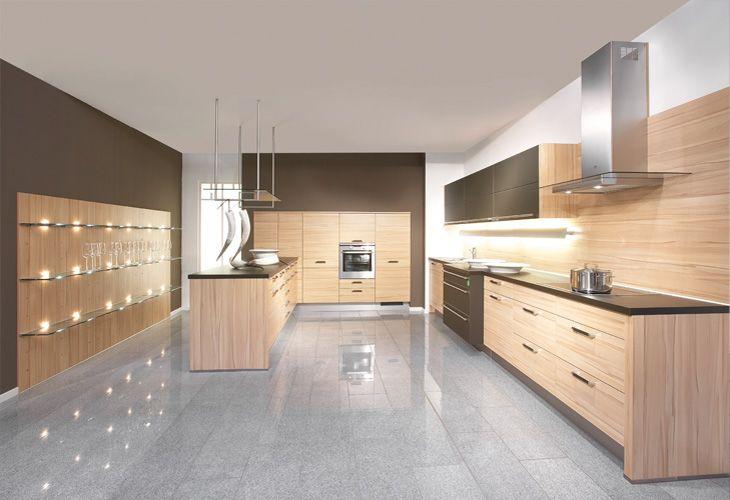 Küche In Hellem Holz Holzküche Kücheninsel Wwwdyk360 Kuechende