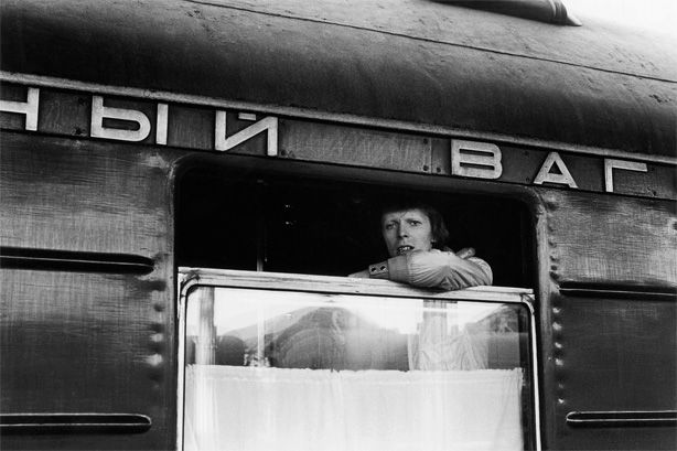 """David Bowie was travelling by train """"Vladivostok-Moscow"""" in 1973."""
