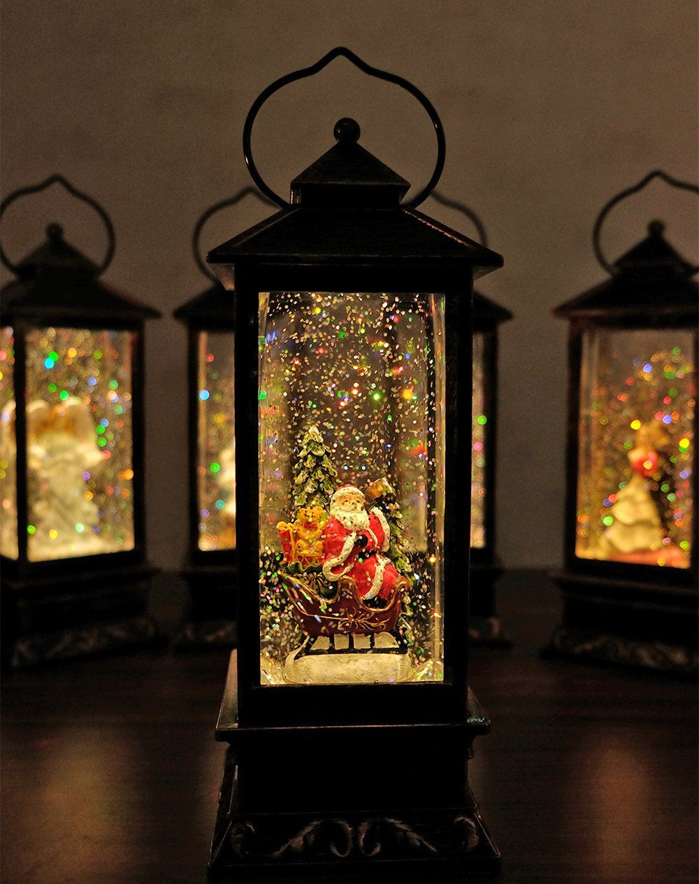 Battery Operated Lighted Christmas Snow