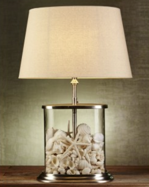 Good $399 Fabulous Lamp That Can Be Dressed Up To Suit Your Decor Style. Add  Shells