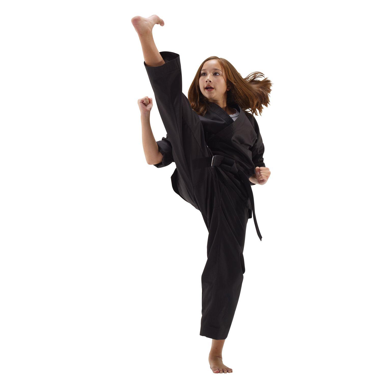 "New Martial Arts Taekwondo Karate Hapkido 1-1//2/"" WHITE STRIPED COLOR BELT"